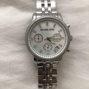 Michael Kors Women's Glitz Chronograph Watch
